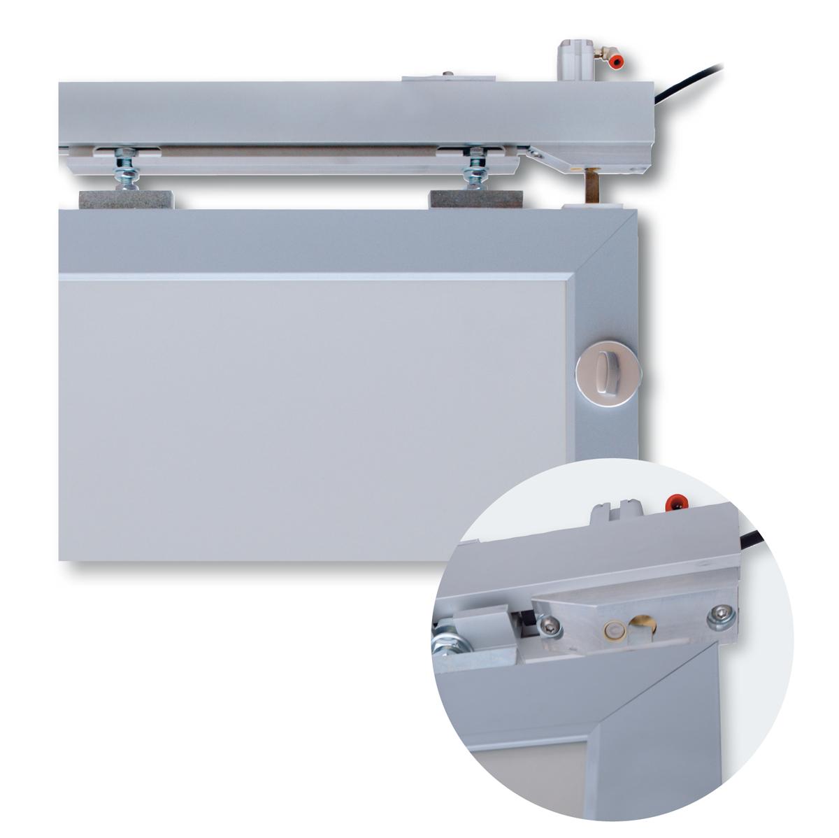 Handbetätigtes Türsystem für gerade oder gebogene WC-Türen