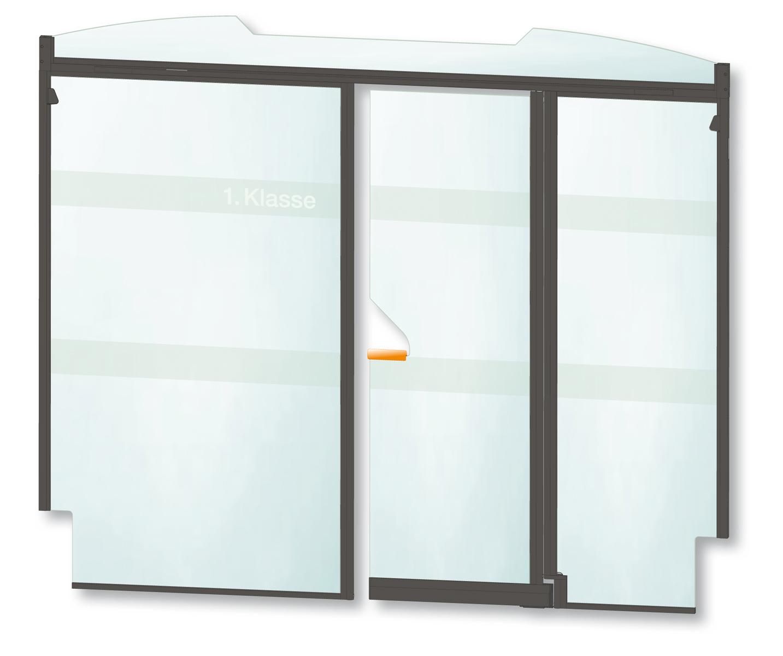 kasper elektronik | Pendeltür / Abteiltrennwand