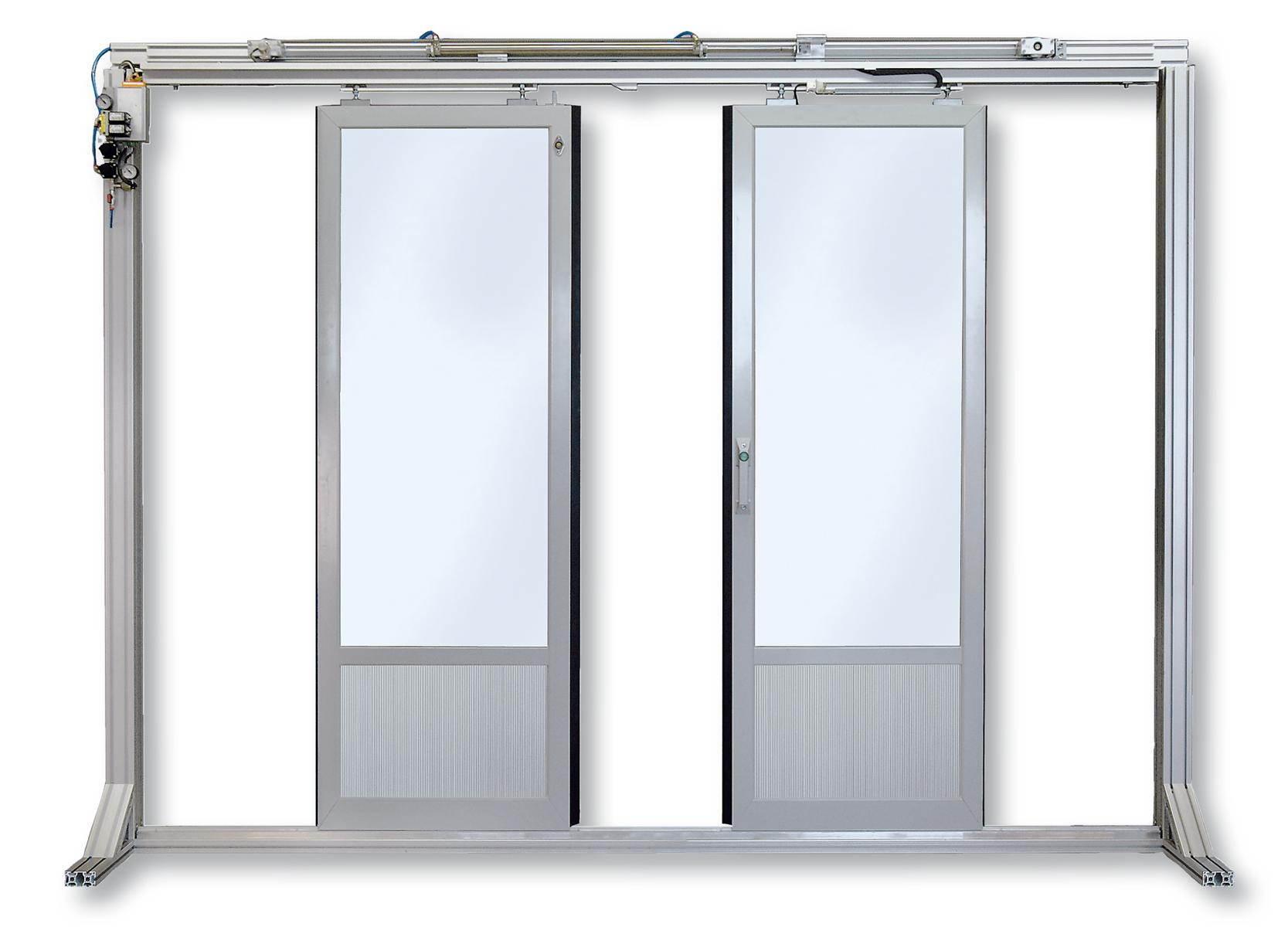 Türführung für zweiflügelige Türen